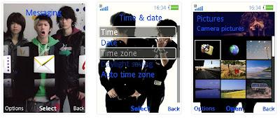 ONE OK ROCK SonyEricsson手機主題for Elm/Hazel/Yari/W20﹝240x320﹞