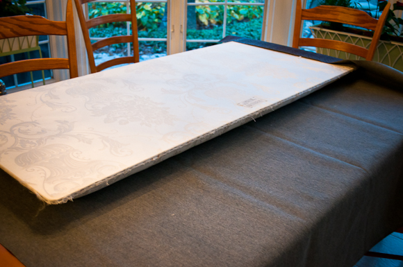 Createlive: DIY Decor | Re-Upholstering A Headboard (And finally a ...