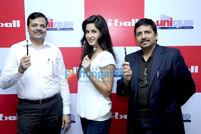 Katrina Kaif to endorse Uniball Pens
