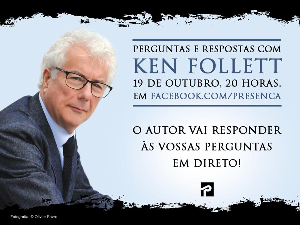 Dia 19 de Outubro, às 20h00 no Facebook da Editorial Presença