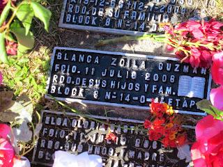 Viviendo en paz, mi cielo, mi madre y abuela, Poema de Carlos Guzmán