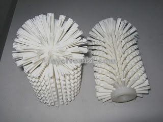 industrial cleaning brush, round end roller brush