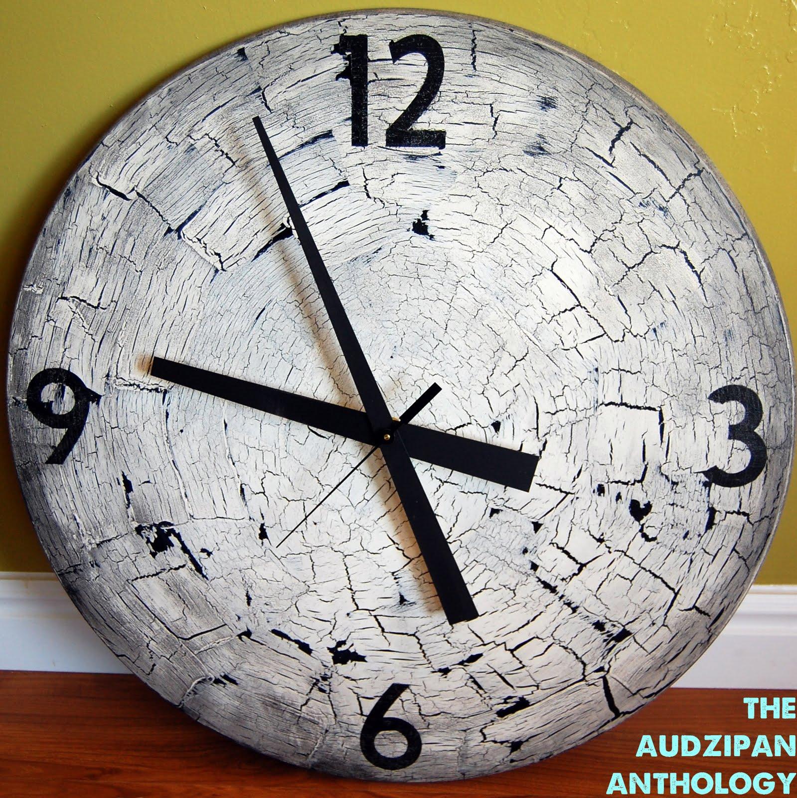 the audzipan anthology: DIY Big Wall Clock