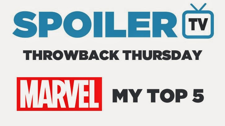 Throwback Thursday - Marvel Top 5 - What would you pick?