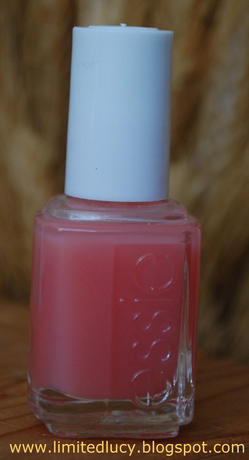 LUCY brb: Essie: Pink Glove Service - nail polish swatch