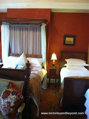 guest room at Ghan House in Carlingford, Ireland