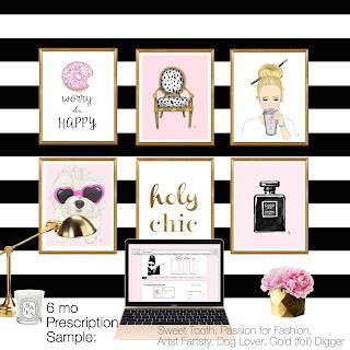 custom art, custom gift, art of the month, monthly art, wine of the month, holiday gift, art subscription, art prescription