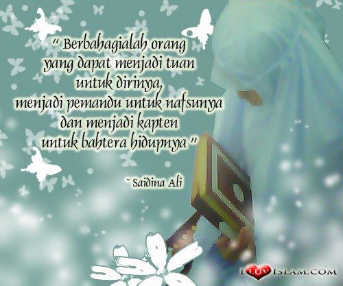 Kuasai Diri, Kawal Diri, Akal, Nafsu, Nafsu vs Akal, I Luv Islam, Testi I Luv Islam