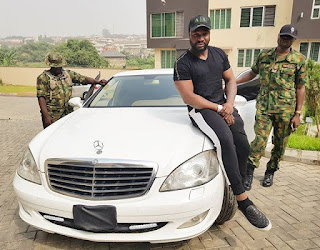 Harrysong shows of new Benz