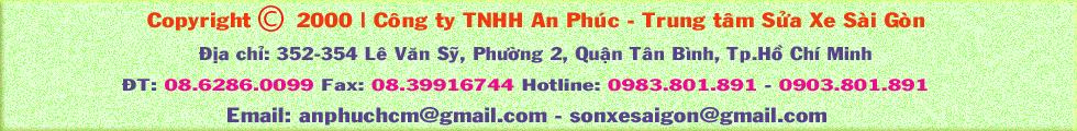 Sửa xe Sài Gòn - Trang