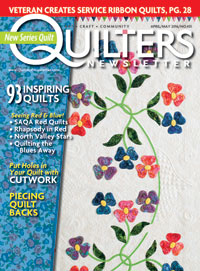 My design, Shortcut in the Be Creative! Quilt Challenge exhibit featured in: