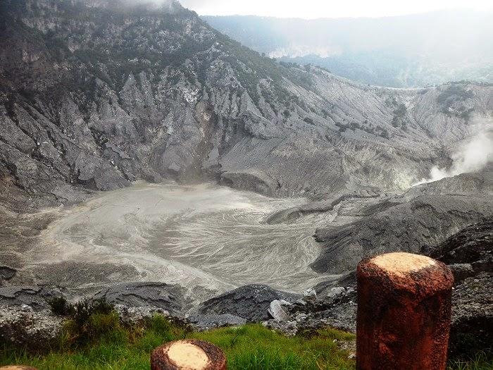 Kawah Ratu Gunung Tangkuban Parahu - elmuhafoto