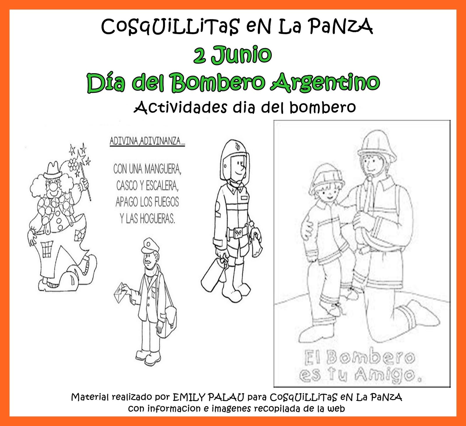 Lujo Páginas Para Colorear De Bomberos Para Preescolares Ideas ...