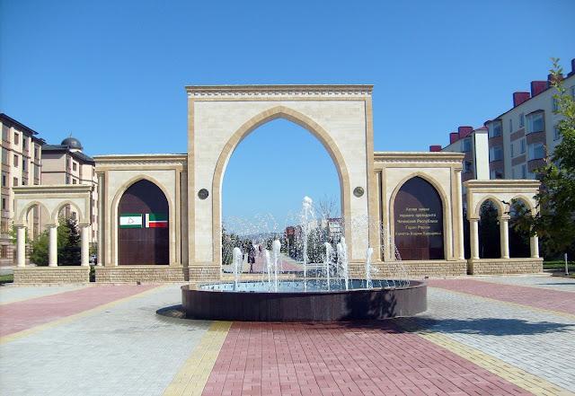 Улицы Магаса. Столица Ингушетии