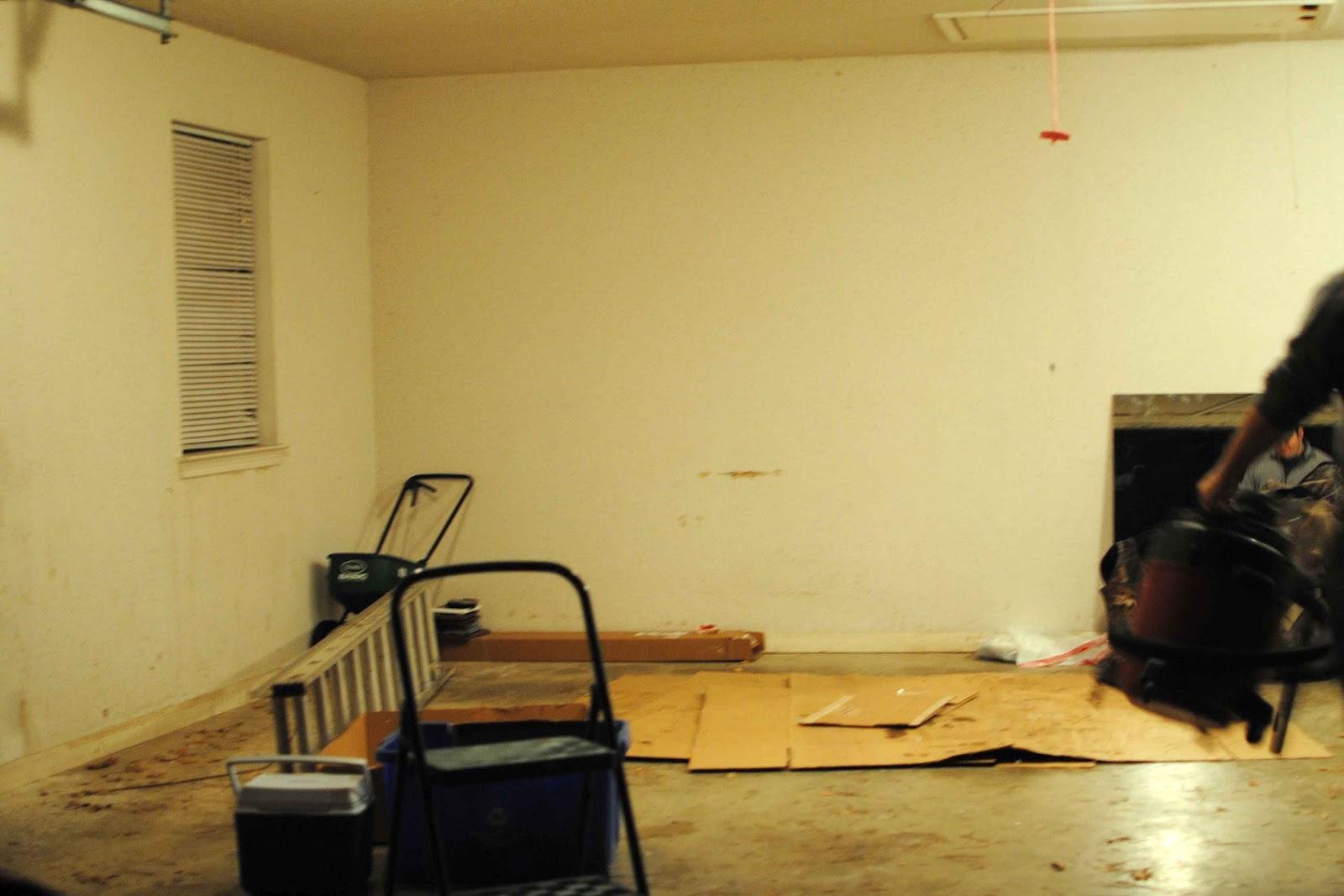 garage door opener scraper paint epoxy elbow grease a garage. Black Bedroom Furniture Sets. Home Design Ideas