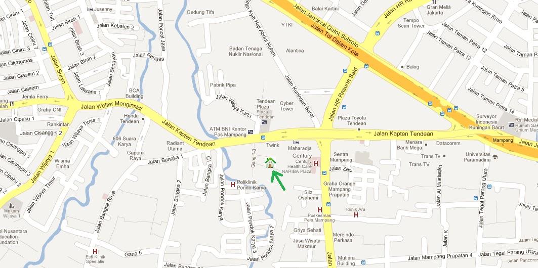 Gedung Cyber Jakarta Alamat Peta Gedung Cyber | Share The
