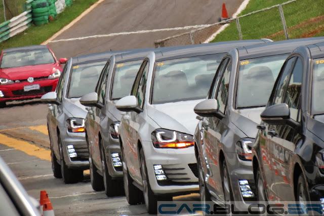 Golf GTI - todos com teto-solar panorâmico
