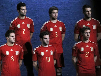 Spanish Football Team 2014