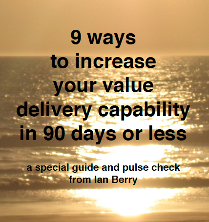 Increase Your Value Delivery Capability