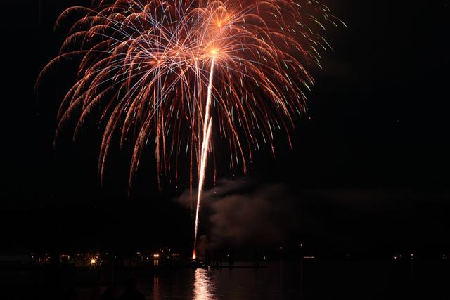 lake pend oreille fireworks