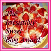 Sweet Blog Award