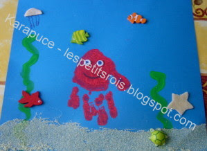 activité créative monde marin