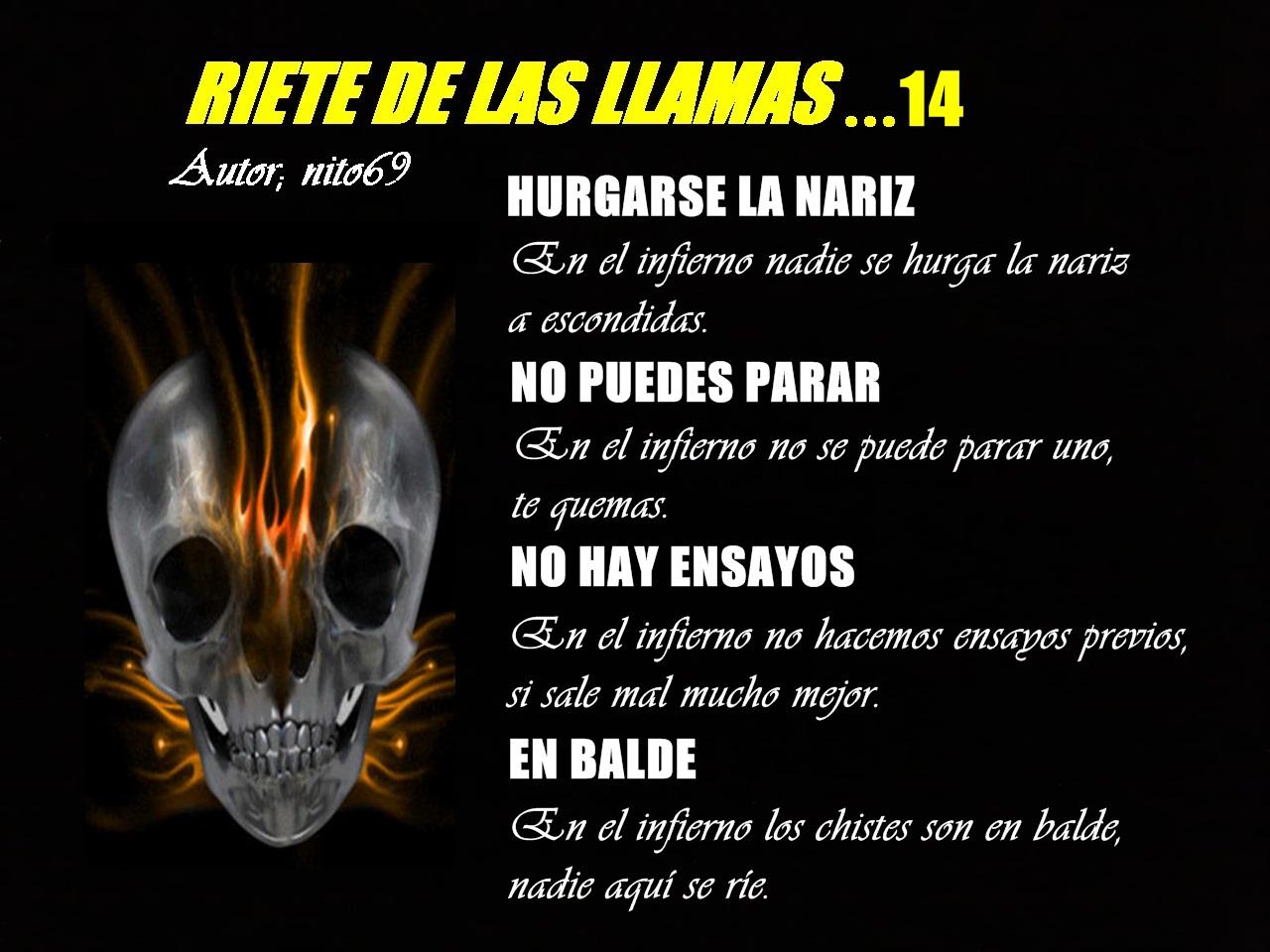 RIETE DE LAS LLAMAS...14