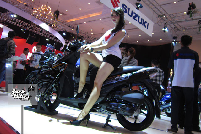 Modifikasi Motor Suzuki Address