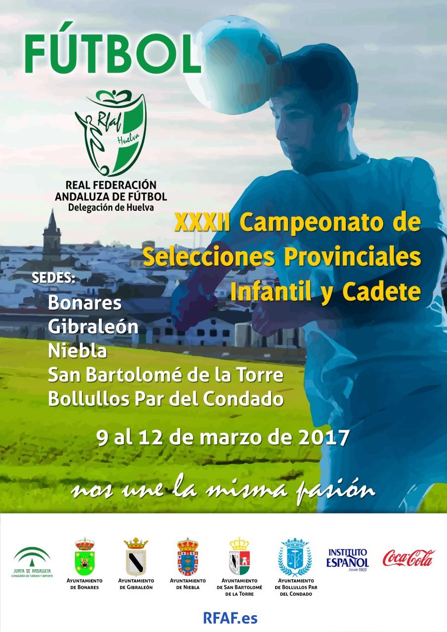 CTO.ANDALUCÍA SELECCIONES PROVINCIALES INFANTIL Y CADETE