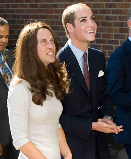 kate middleton prince williams face swap