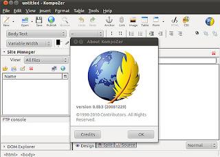 software html editor