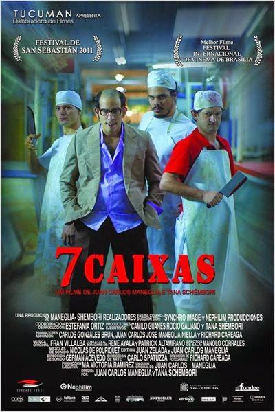 """Poster do filme """"7 Caixas"""""""