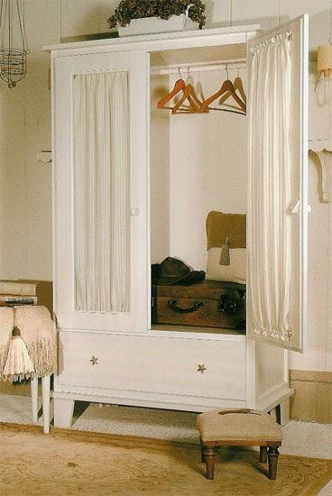 La web de la decoracion y el mueble en la red armarios for Cortinas para puertas de armarios