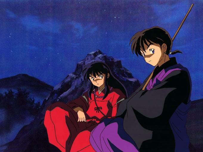 inuyasha and miroku