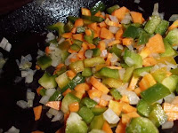 relleno de verduras