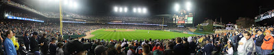 detroit tigers playoff, panorama, stadium