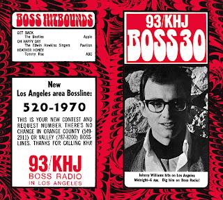 KHJ Boss 30 No. 198 - Johnny Williams