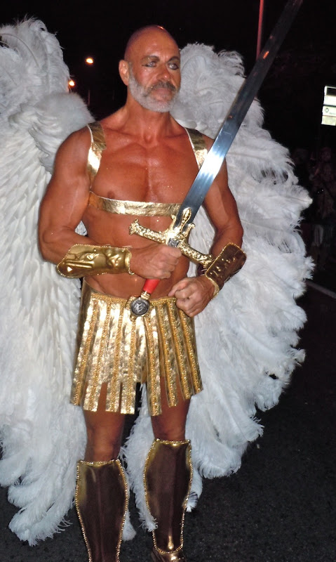 West Hollywood Halloween Carnaval Archangel