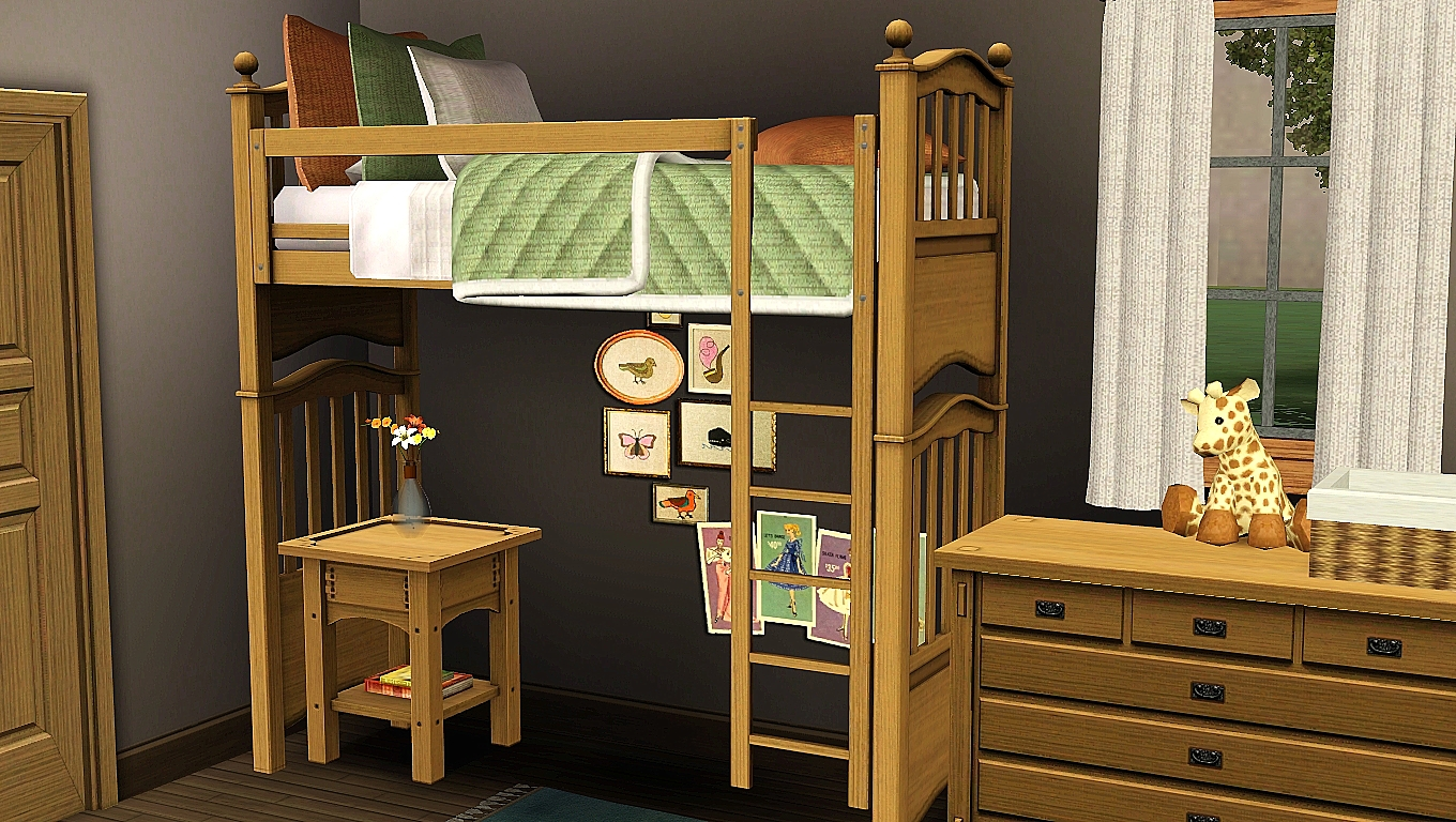 How To Make Functional Bunk Beds In Sims