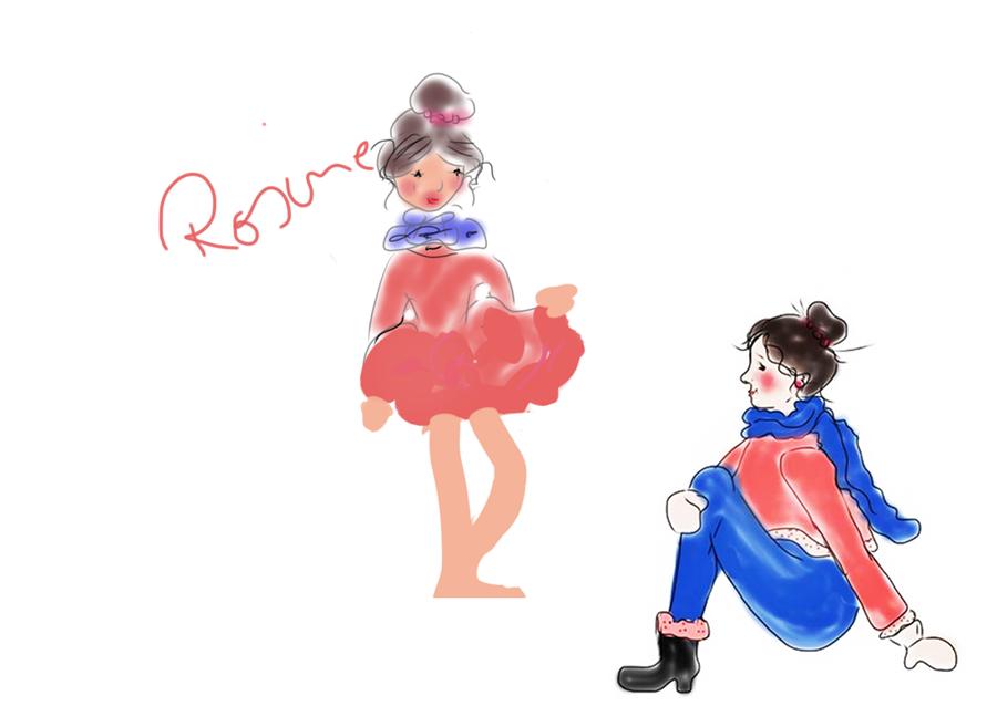Zeichnen * Malen -  Zeichnungen der Rosine Rosinenmalerei -