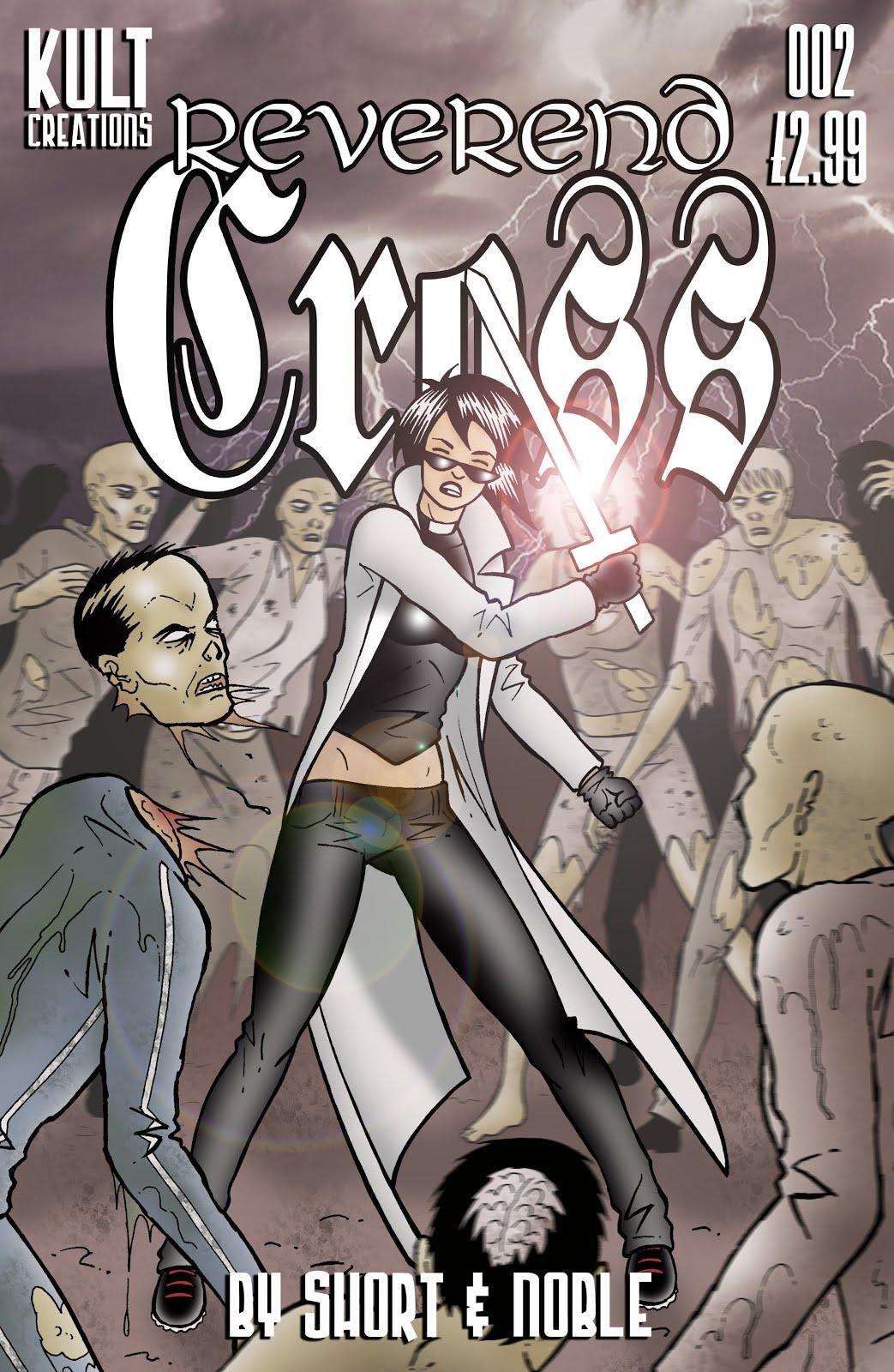 Buy REVEREND CROSS issue 002 BELOW!