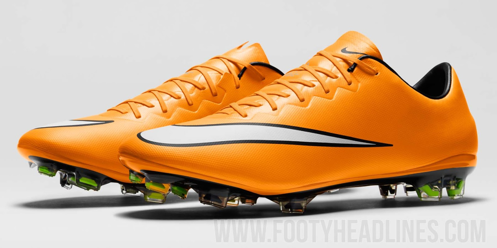 orange nike mercurial vapor x 14 15 boot released footy. Black Bedroom Furniture Sets. Home Design Ideas