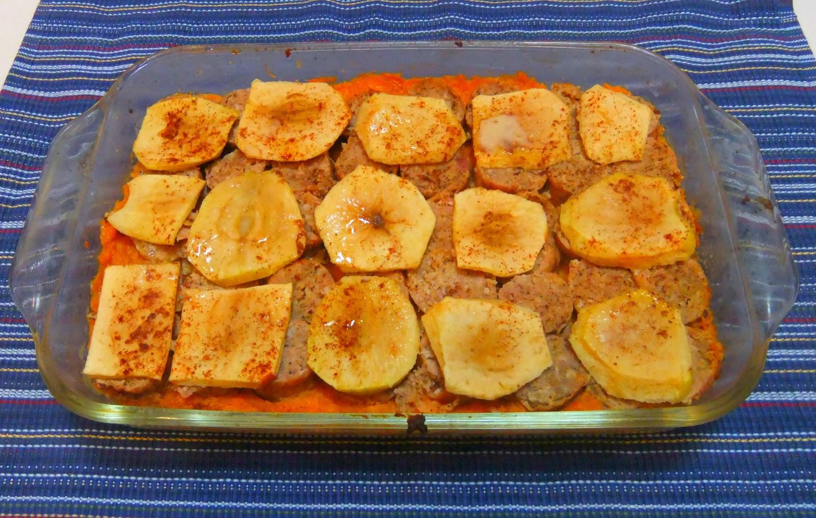 Mealpod: Sweet Potato Sausage & Apple Casserole