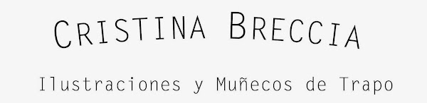 Cristina Breccia, muñecos y dibujos
