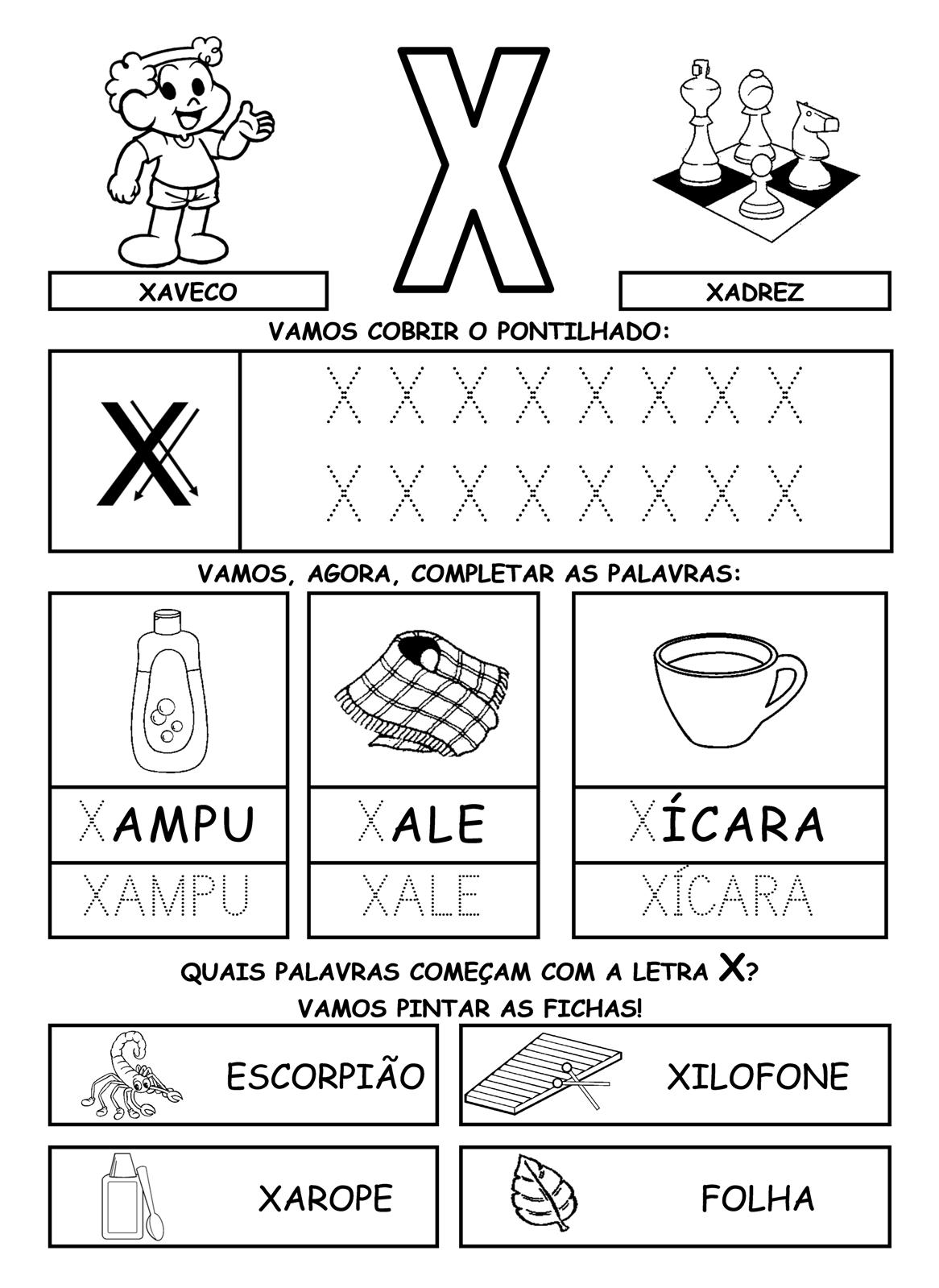 Alfabetizando com m 244 nica e turma alfabeto atividades