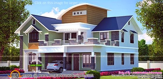 Beautiful Kerala house plan