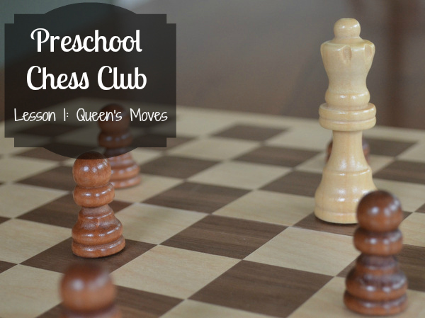 Preschooler chess