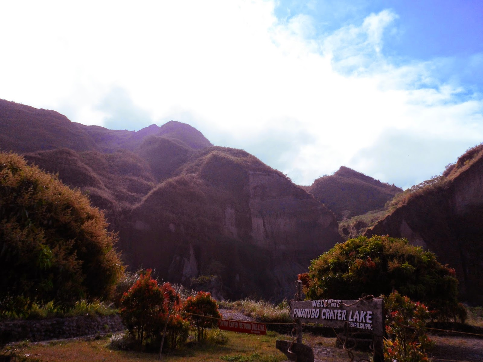 Mount Pinatubo Crater Lake