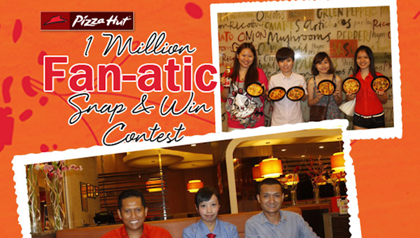 Pizza Hut '1 Million Fan-atic Snap & Win' Contest