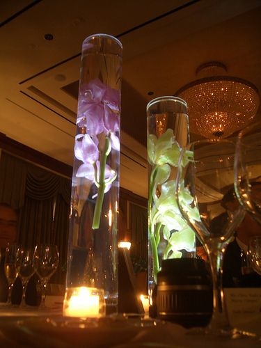 Tall wedding centerpiece vases